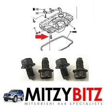 MITSUBISHI PAJERO SHOGUN DELICA MK2 91-99 2.8 4M40 ENGINE SUMP OIL PAN BOLTS X 4