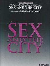 SEX and the City-composto da Douglas J COMO - 1999 SPARTITI MUSICALI