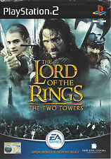 THE LORD OF THE RINGS - THE TWO TOWERS for Playstation 2 PS2 - manual in Dutch