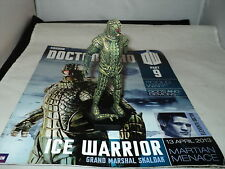 Eaglemoss Doctor Who Figurines Collection - issue 9 - Ice Warrior - broke