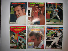 SPORTS ILLUSTRATED 4 from 1971, 2 from 1981 McEnroe, Petty, Nettles, Sammartino