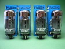 6p3s-e matched QUAD NOS (5881/6l6 WGC) - & GT TUBE AMP-amplificatore TUBI
