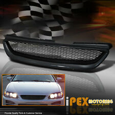 New Honda 1998 1999 2000 Accord 2Dr Coupe JDM Black Mesh Grille Grill