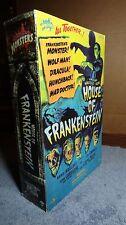 "Sideshow Universal Monsters 12"" figure House of Frankenstein NIP"