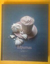 Livre de recettes de cuisine Mousses (Espumas) Hachette cuisine 67 pages