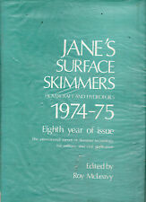 JANE'S  SURFACE SKIMMERS : HOVERCRAFT & HYDROFOILS  1974 - 75 - McLEAVY