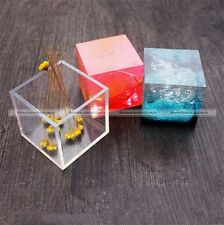 Liquid Silicone Cube Mould Dried Flower Resin Craft DIY Jewelry Making Mold S5