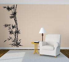 Wall Room Decor Art Vinyl Decal Sticker Bamboo Tree Bush Forest Large Big AS491
