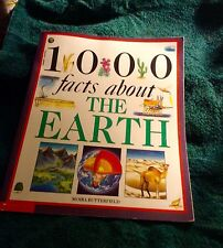 1000 FACTS ABOUT THE EARTH by MOIRA BUTTERFIELD 1993 PB