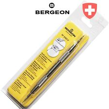 Bergeon Swiss Made 6767-F Watch Spring Bar Tool with fine pin and fork