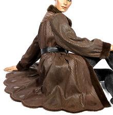 L Nerzmantel Nerz Mantel Pelzmantel Wendemantel reversible mink fur coat leicht