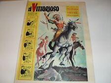 JACOVITTI NEL VITTORIOSO DEL 6 FEBBRAIO 1957 ANCHE IN COPERTINA-IMPERDIBILE