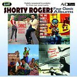 Shorty Rogers Express/And His Giants/Wherever the 5 Winds Blow/Chances Are 2 CD