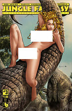 JUNGLE FANTASY IVORY #3 SULTRY NUDE COVER (BOUNDLESS 2016 1st Print) Comic