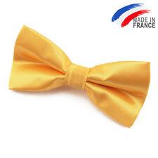 Noeud Papillon réglable pour Enfant en Satin jaune - Children Yellow bowtie
