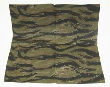 Tiger stripe camouflage cotton polyester 21 by 21 inch large scarf bandana new