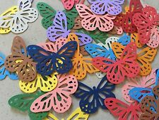 Martha Stewart Butterfly Punch Scrapbooking 50 Pcs Colourful Cardstock Confetti