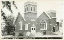 A View Of St John's Evangelical Church, Westfield WI Wisconsin RPPC