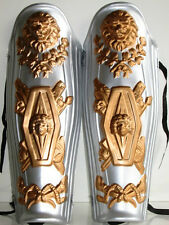 ROMAN GLADIATOR CENTURION SPARTAN COSTUME LEG PIECES SHIN GUARDS ARMOR