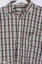 Chemise Lacoste Men Long Sleeve Regular Fit Casual Shirt  Multi Size 38/39 Check