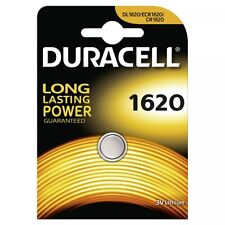 2 Piles CR-1620- DL-1620 DURACELL bouton Lithium 3V DLC 2025
