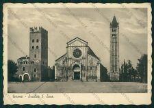 Verona Città Basilica San Zeno FG cartolina VK2477
