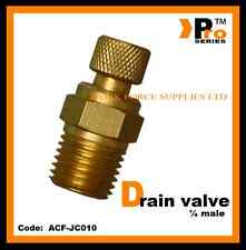 Air Compressor Drain Valve 1/4''BSP Male   -Air line Fittings