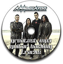 36 ANNIHILATOR HEAVY METAL THRASH ROCK STIL GITARRE MP3 PLAYBACK TITEL CD