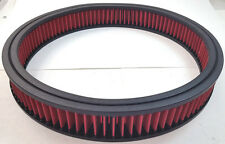 "14"" x 2"" 14x2 Washable Resuable High Flow Air Filter Element Chevy Ford Mopar V8"