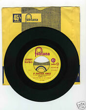 45 RPM SP JOHNNY MATHIS A CERTAIN SMILE /LET IT RAIN