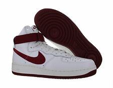 Mens Nike Air Force 1 Hi Retro QS Summit White Team Red 743546-106 SZ 14