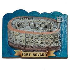 Resin Fridge Magnet: France. Fort Boyard