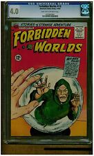 FORBIDDEN WORLD #110 1963 AMERICAN COMICS DARK TAN TO OFF WHITE PAGES BLUE LABEL