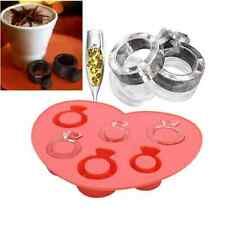 Love Ring Silicone Ice-lolly Ice Cream Cube Trays Cake Candy Chocolate Molds