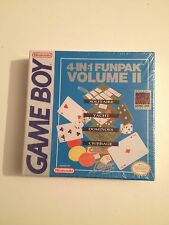 4 In 1 Funpak Volume 2 Nintendo Game Boy Nuovo Sigillato Sealed