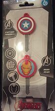 Marvel Avengers Key Covers x 2 - Captain America and Iron man Key Covers New