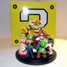 SUPER MARIO BROS. DIORAMA ACTION FIGURE Won With Nintendo Points Club! SUPERRARE