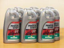 12,91€/l Motorex Power Synt 2T vollsyn  2Taktöl 12 x 1 L