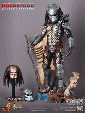 "Sideshow-Hot toys classic predator exclusive edition 1:6 12"" figure-rare"