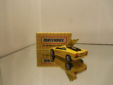 1993 Matchbox Lamborghini Diablo #MB22 - Yellow - Mint Loose W/ Box 1/59 Scale