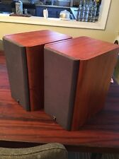 Pair F15 Audiophile 2-Way 90W Stereo Bookshelf Speakers UK - Cherry Q15