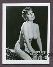 Big Chest Busty Boobs Breasts Buxom Full D 1950 ORIGINAL NUDE PINUP PHOTO B3761