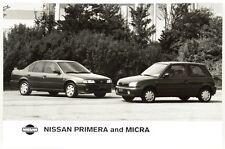 Fotografia Originale - Nissan Primera And Micra cm 11,5 x 17,5