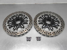 #5706 - 2013 09 11 13 Harley Touring Road Glide  Billet Front Brake Rotors