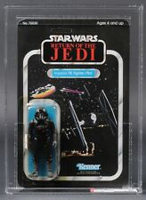 Star Wars Vintage Tie Fighter Pilot ROTJ 65 Back-A AFA 80Y (85/80/80) UP MOC