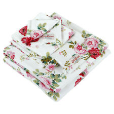 Cath Kidston Antique Rose White Wash Mitt / Flannel BNWT - Includes Postage