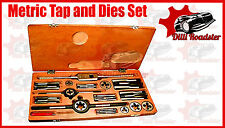 HEAVY DUTY METRIC TAP AND DIE SET 06MM TO 20MM-COMPLETE METRIC  TOP QUALITY