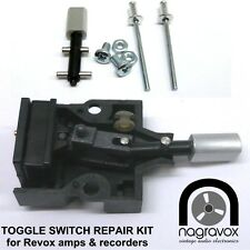 REVOX Toggle Switch Repair Kit for Revox  B77, PR99, B710, B750 and others