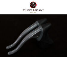 NOS Shimano 600 Brake lever - Ultegra SLR - BL-6400 Pair - in grey anodised