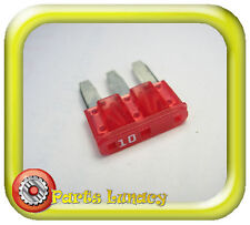FUSE 10 Amp RED 3 LEG - MICRO3 ATL Style - Most 2015 FORD RANGER PX Mk2